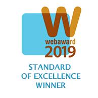 Award Winning B2B Marketing Agency - Web Awards - Technology Standard of Excellence 2019