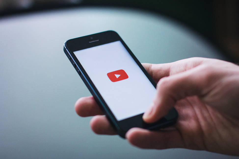 YouTube Live video on iPhone