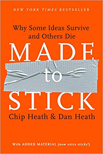 Made to Stick by Chip Heath & Dan Heath.
