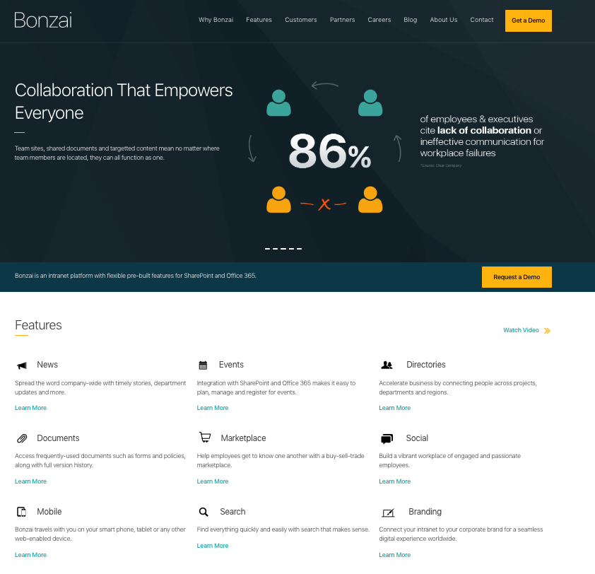 BONZAI - B2B Marketing Strategy Client