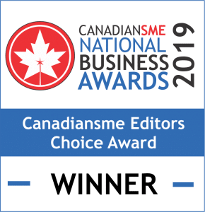 Business Awards - CanadianSME Editors Choice Award Winner - Maven Collective Marketing