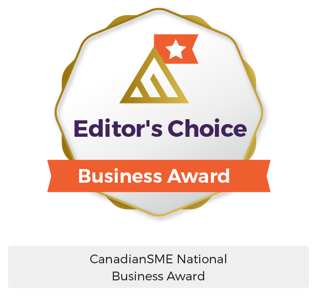 B2B Marketing Services Award - CanadianSME Editors Choice Digital Marketing - Maven Collective Marketing